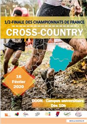 1/2 finale du Championnat de France de Cross Country